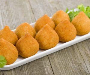 Coxinha (sem ovo, leite, soja, milho, glúten)